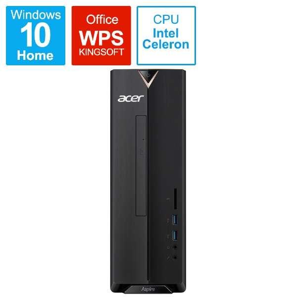 XC-830-N14F デスクトップパソコン Aspire X ブラック [モニター無し /HDD:1TB /メモリ:4GB /2018年6月]