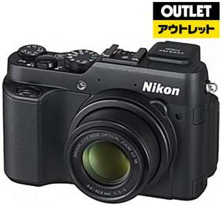 【アウトレット品】 P7800 コンパクトデジタルカメラ COOLPIX(クールピクス) ブラック 【生産完了品】