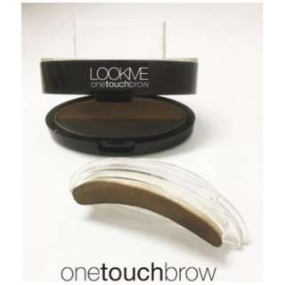 LOOKME ワンタッチアイブロウ OTE02 Light Brown&Natural Brown