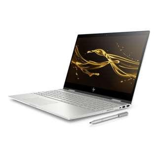 4JA21PA-AAAB ノートパソコン ENVY x360 15-cn0001TU-OHB ナチュラルシルバー [15.6型 /intel Core i7 /HDD:1TB /SSD:256GB /メモリ:8GB /2018年6月モデル]