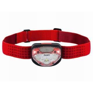 HDL200RD ヘッドライト VISION(ヴィジョン) レッド [LED /単4乾電池×3 /防水]
