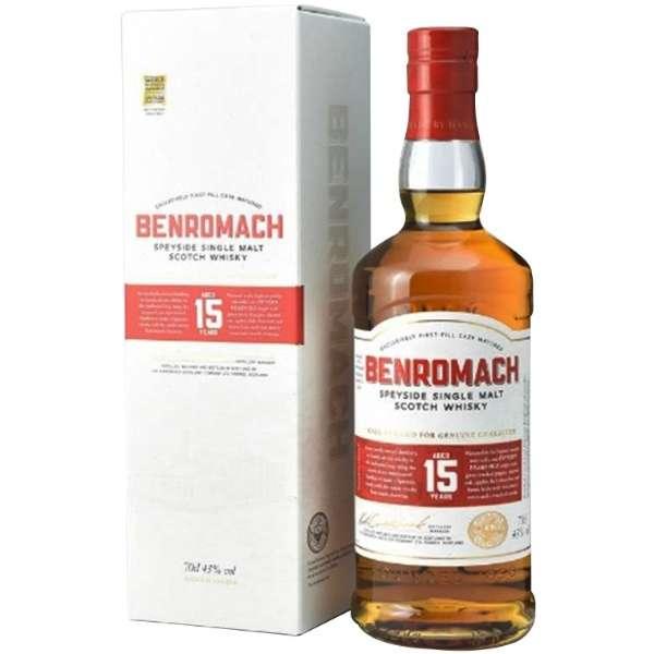 ベンロマック 15年 700ml【ウイスキー】