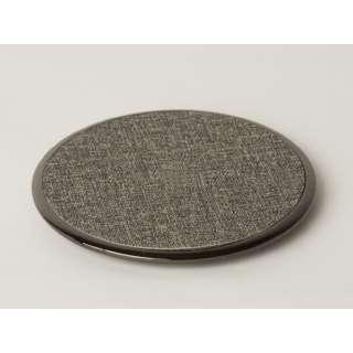 ワイヤレス充電器 Qi対応(5W/7.5W/10W対応)表面陶器タイプ AWC-D10H-GY グレー [ワイヤレスのみ]