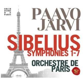 パーヴォ・ヤルヴィ(指揮) パリ管弦楽団/ シベリウス:交響曲全集 【CD】