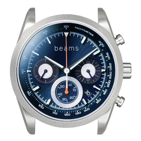 wena wrist Chronograph Solar Silver beams edition WNW-HCS02/S  beamsモデル