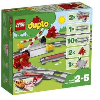 LEGO(レゴ) 10882 デュプロ あそびが広がる!踏切レールセット