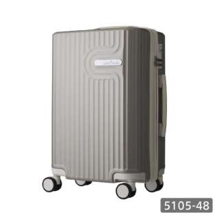 スーツケース 35L Lyra(リラ) グレー 5105-48-GY [TSAロック搭載]