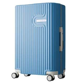 TSAロック搭載 無料受託手荷物対応サイズ ダブルキャスター装備 パステルカラー フレームキャリー 5105-60 ブルー【56L(3~5泊) 4.3kg】 5105-60-BL ブルー [(約)56L]
