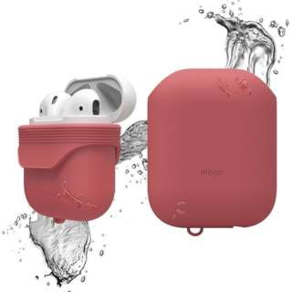 AirPods用防水ケース WaterProof Case for AirPods EL_APDCSSCWC_IR イタリアンローズ
