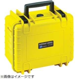 B&W プロテクタケース 1000 黄 フォーム