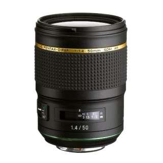 カメラレンズ HD PENTAX-D FA★50mmF1.4 SDM AW ブラック [ペンタックスK /単焦点レンズ]