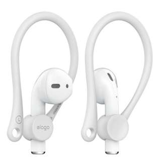 elago(エラゴ) Ear Hook(イヤーフック) for AirPods elago White EL_APDCSTPEH_WH
