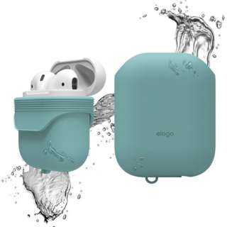 elago(エラゴ) AirPods WaterProof Case(ケース) for AirPods EL_APDCSSCWC_CB Coral Blue