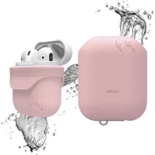 elago(エラゴ) AirPods WaterProof Case(ケース) for AirPods EL_APDCSSCWC_PK Lovely Pink
