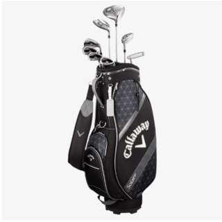 レディース ゴルフクラブセット ソレイル パッケージセット ブラック 8本セット《キャディバッグ付/W#1、W#5、6H、Ir#7、Ir#9、PW、SW、PT》