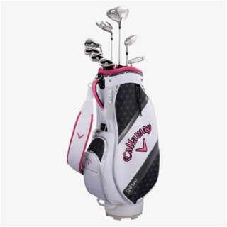 レディース ゴルフクラブセット ソレイル パッケージセット ピンク《キャディバッグ付//W#1、W#5、6H、Ir#7、Ir#9、PW、SW、PT》L