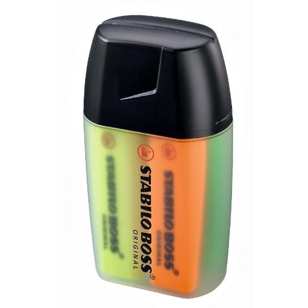 [蛍光ペン]Stabilo BOSS ORIGINAL(ボス オリジル) ビッグボックス 4色セット 7004-3