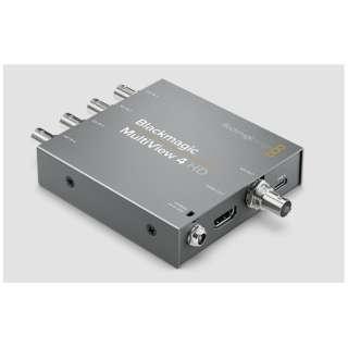 モニタリング Blackmagic MultiView 4 HD HDLMULTIP3G/04HD