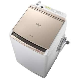 BW-DBK70C 縦型洗濯乾燥機 ビートウォッシュ シャンパン [洗濯7.0kg /乾燥3.5kg /ヒーター乾燥(水冷・除湿タイプ) /上開き]