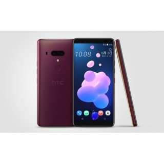 【防水・防塵・おサイフケータイ】HTC U12+フレームレッド Snapdragon 845 6型 メモリ/ストレージ: 6GB/128GB nanoSIM ドコモ/au/ソフトバンクSIM対応 SIMフリースマートフォン