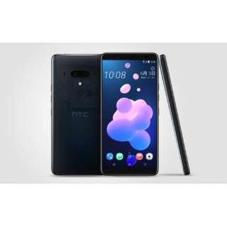 【防水・防塵・おサイフケータイ】HTC U12+トランスルーセントブルー Snapdragon 845 6型 メモリ/ストレージ: 6GB/128GB nanoSIM ドコモ/au/ソフトバンクSIM対応 SIMフリースマートフォン