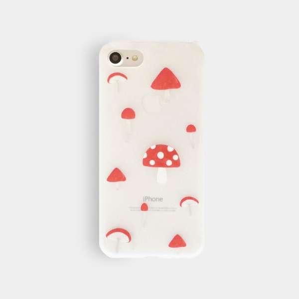 iPhone 7用 ハードケース アンドワン Mushroom BP-A0619