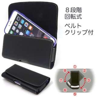 iPhone 6s Plus / 6 Plus用 ベルトクリップホルダー ヨコ型 SH-IP7PH ブラック