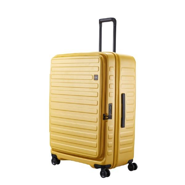 スーツケース 120L(130L) CUBO マスタード N-Cubo-LL [TSAロック搭載]