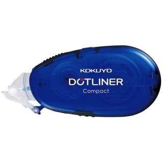 [テープのり]ドットライナー コンパクト 本体(幅8.4mm・長さ11m) タ-DM4500-08B 青