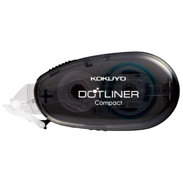 [テープのり]ドットライナー コンパクト 本体(幅8.4mm・長さ11m) タ-DM4500-08M グレー