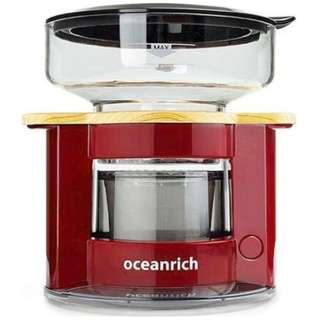 UQ-CR8200RD oceanrich自動ドリップ・コーヒーメーカー レッド