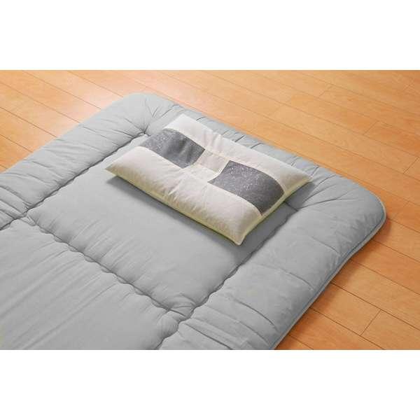 竹炭 パイプ枕(35×50cm)【日本製】