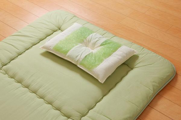 イケヒコ ピロー 高さを選べる ヒバエッセンス使用 森の眠りひば枕L 約35×50×7cm 低め 1個