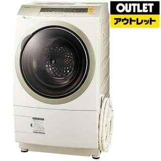【アウトレット品】 ES-ZP1-NR ドラム式洗濯乾燥機 ゴールド系 [洗濯10.0kg /乾燥6.0kg /ヒートポンプ乾燥 /右開き] 【生産完了品】