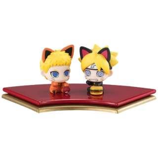 ぷちきゃらランド 招き猫 BORUTO-ボルト- NARUTO NEXT GENERATIONS 親子招き猫だってばさ!