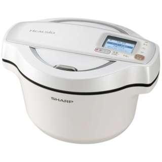 KN-HW16D-W 水なし自動調理鍋 HEALSIO(ヘルシオ)ホットクック ホワイト系
