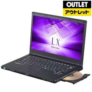【アウトレット品】 14型ノートPC[Win10 Pro・Core i5・SSD 256GB・メモリ 8GB・Office Home and Business] レッツノート LX ブラック CF-LX6PDGQR (2017年秋冬モデル) 【生産完了品】