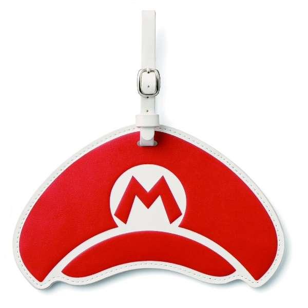ラゲッジタグ スーパーマリオ(マリオの帽子) NSL-0024