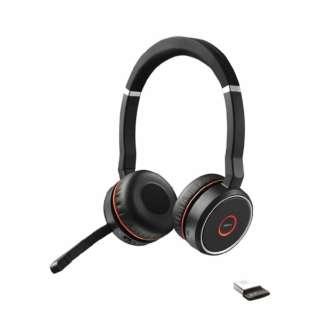 ワイヤレスヘッドセット Jabra Evolve 75 SME 100-98510000-99