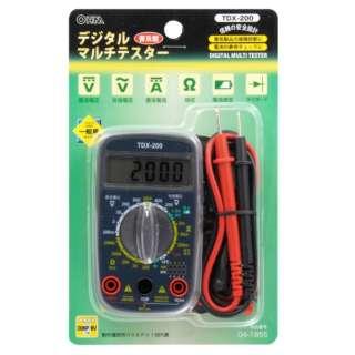 デジタルテスター TDX-200