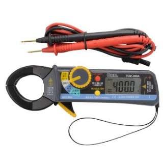 デジタルクランプメーター TCM-400A