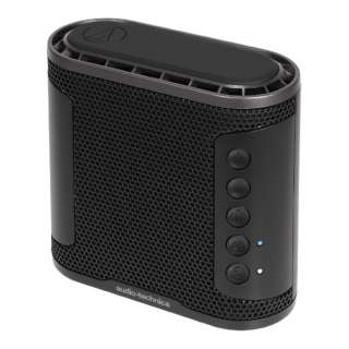 AT-SBS50BT BK ブルートゥース スピーカー SOLID BASS ブラック [Bluetooth対応 /防水]