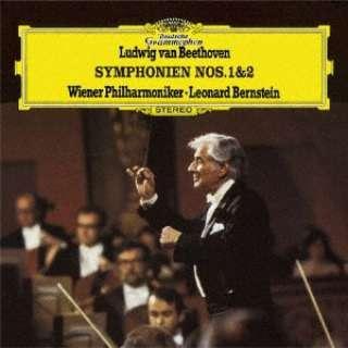 レナード・バーンスタイン(cond)/ ベートーヴェン:交響曲第1番&第2番 【CD】