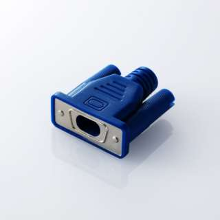 [ケーブルアクセサリー]ケーブルフィギア CABLE MANIA D-Sub15ピン ブルー P-APLTDCNDSUB