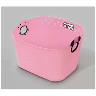 ミニーマウス やわらかバケツ SQ16 ピーチピンク ピーチピンク