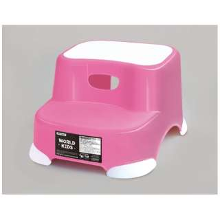 ビーンズ ステップ 2段 ピンク ピンク