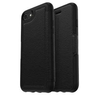 シンメトリーシリーズ for iPhone8/7 レザー Folio Onyx 77-55188 Onyx レザー手帳型ケース 77-55188 Onyx
