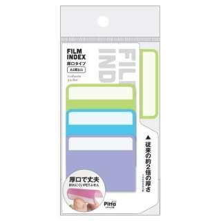 FILM INDEX 厚口タイプ A4縦6山(10枚×3色) C-FI-09