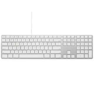 Matias Wired Aluminum Keyboard for Mac シルバー 英語配列