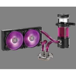 MasterLiquid Maker 240 [IntelR LGA 2066 / 2011-v3 / 2011 / 1151 / 1150 / 1155 / 1156 socket  AMDR AM4 / AM3+ / AM3 / AM2+ / AM2 / FM2+ / FM2 / FM1 socket]